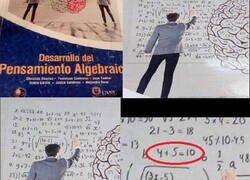 Enlace a Aún tiene que desarrollar un poco más el pensamiento algebraico...