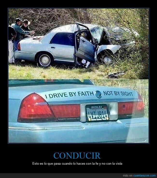 accidemte,coche,conducir,fe