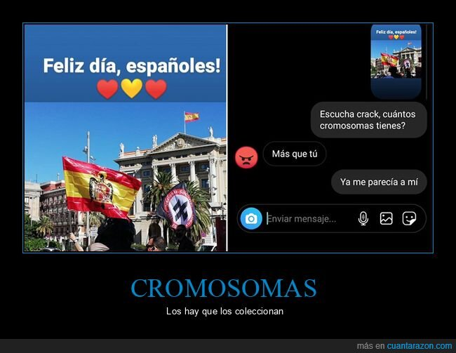 banderas,cromosomas,fails
