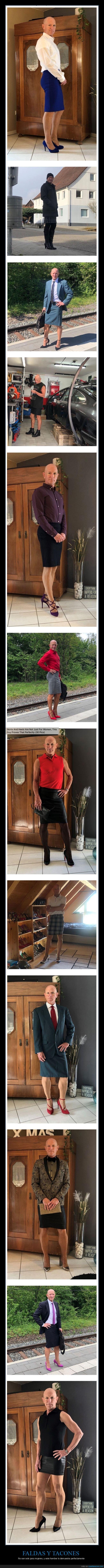 faldas,hombre,tacones