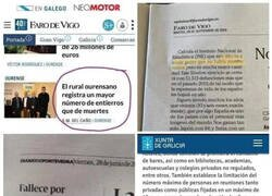 Enlace a Lo de Galicia ya da mal rollo...