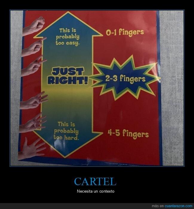carteles,dedos,wtf