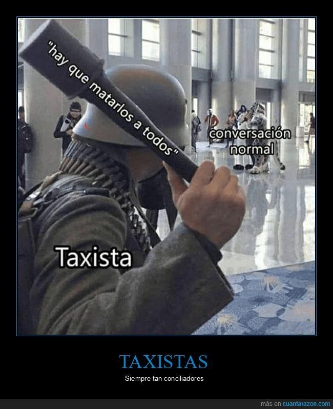 conversación,matar,taxista