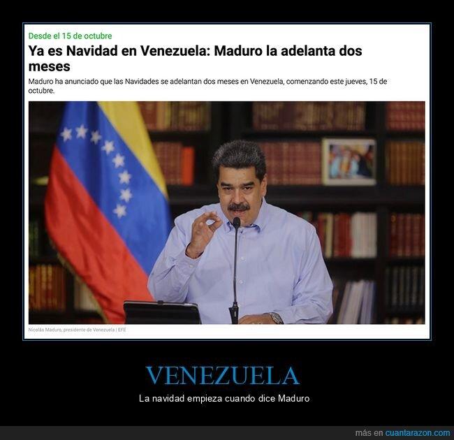 navidad,nicolás maduro,políticos,venezuela,wtf
