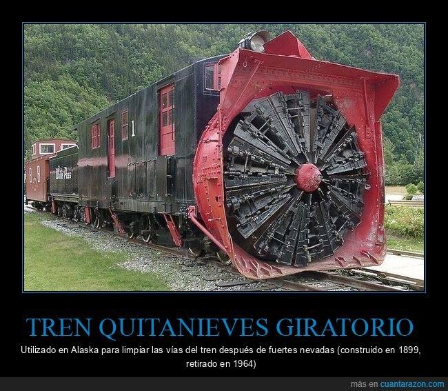 curiosidades,giratorio,quitanieves,tren