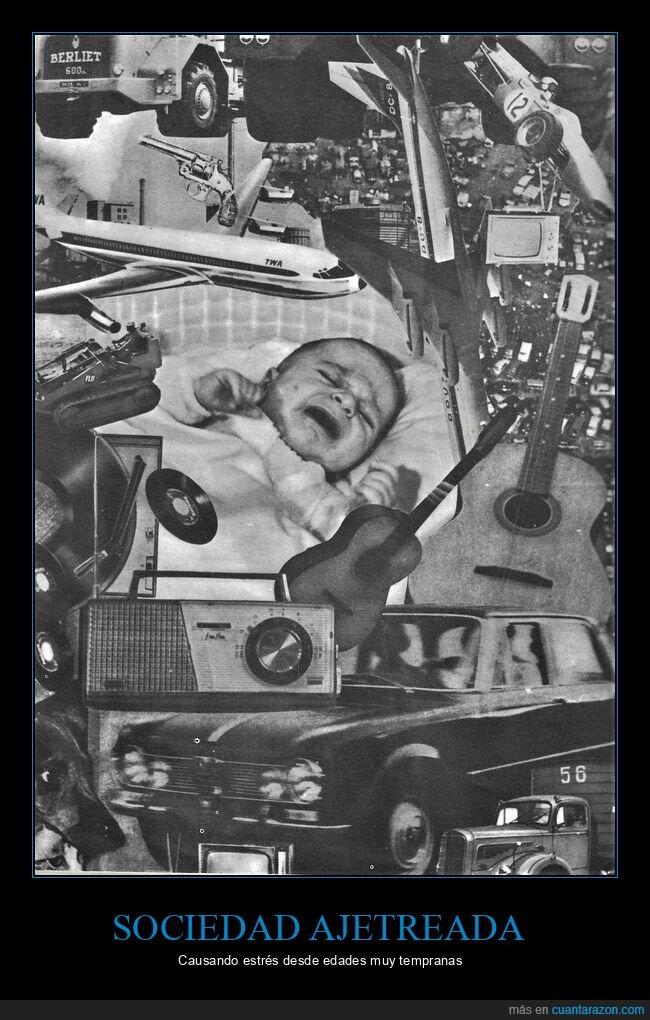bebé,estrés,salud,sociedad