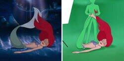 Enlace a Famosas escenas de Disney vistas tras las cámaras