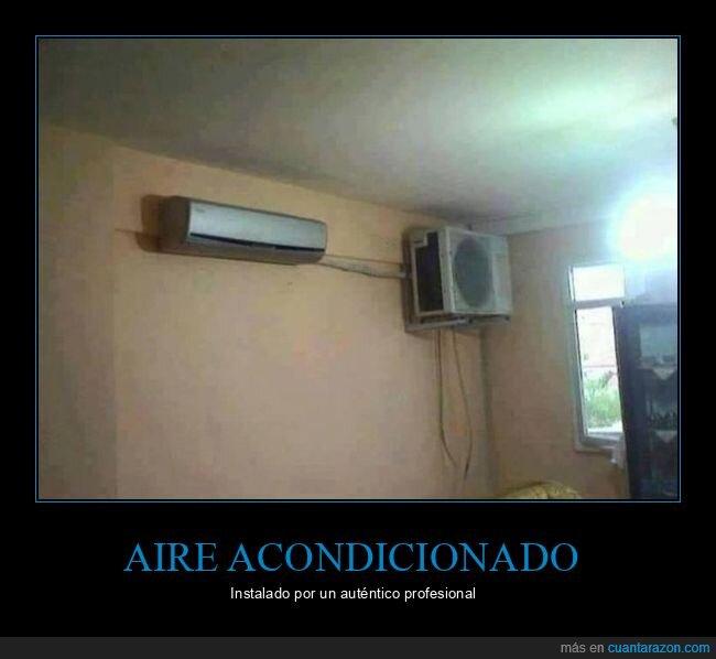 aire acondicionado,fails