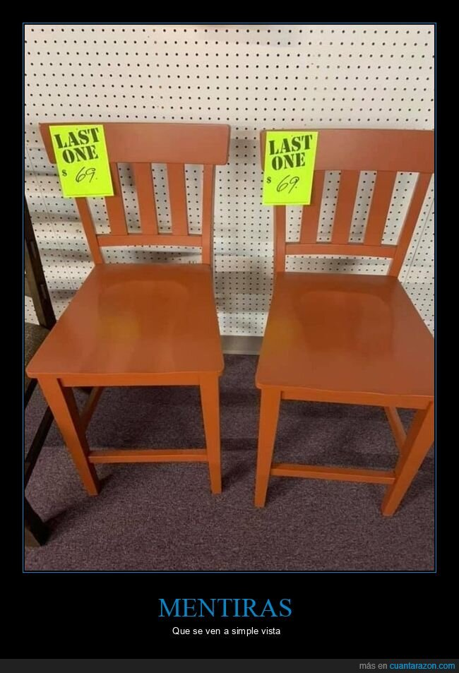 fails,sillas,última