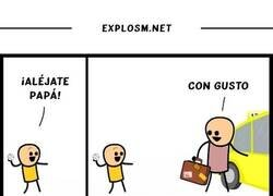 Enlace a Padre literal