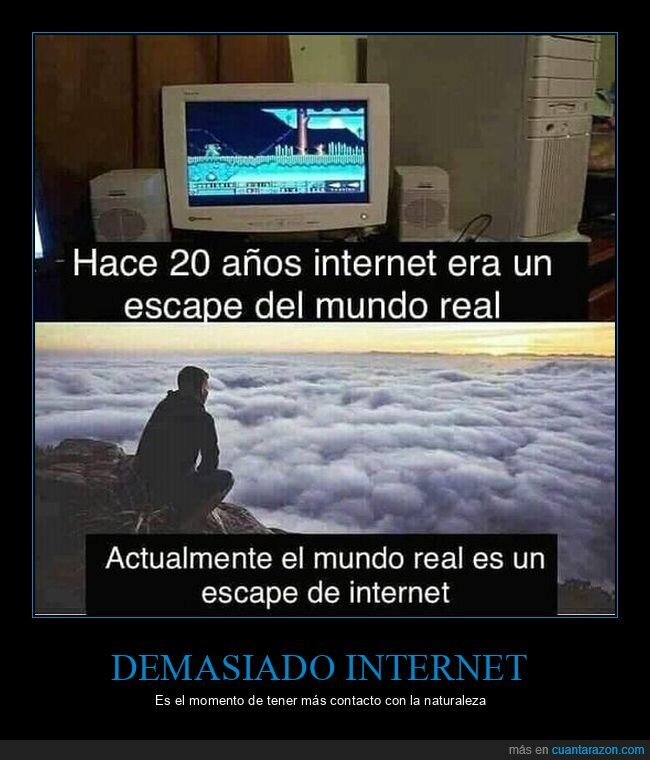 escape,internet,mundo real