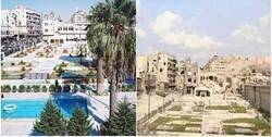 Enlace a Imágenes del antes y el después de la ciudad más grande de Siria