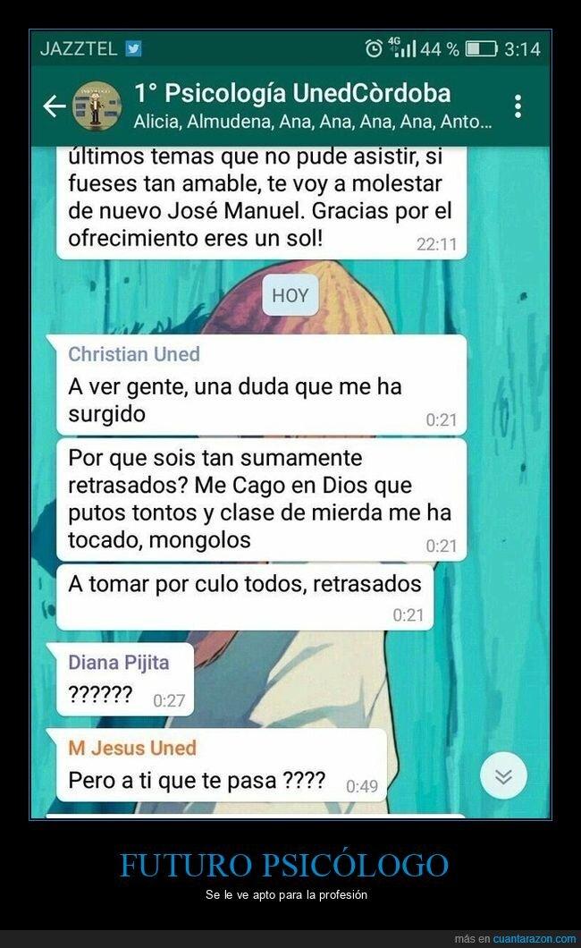 psicología,whatsapp,wtf