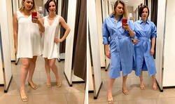 Enlace a Estas mujeres comparan las tallas XL y XS de las mismas prendas