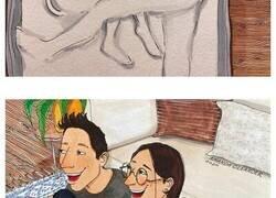 Enlace a Esta artista dibuja lo que ocurre realmente en cada relación a puerta cerrada