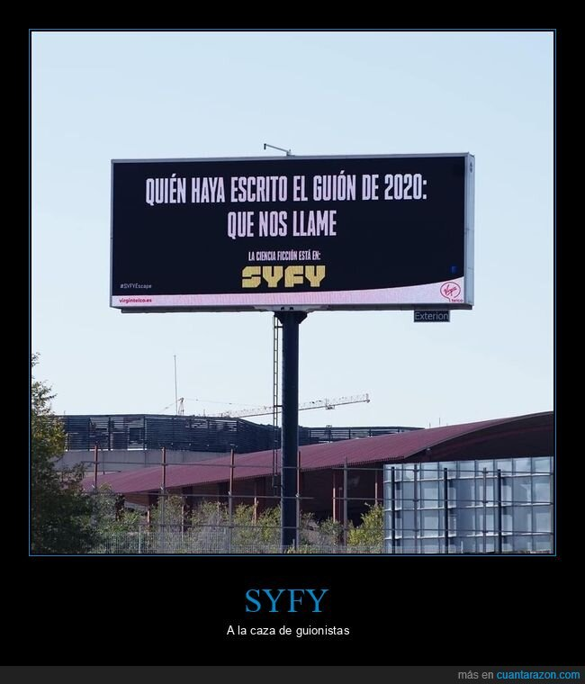 2020,anuncios,guión,syfy