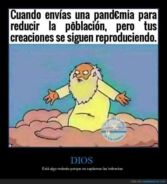 dios,pandemia,reproducirse