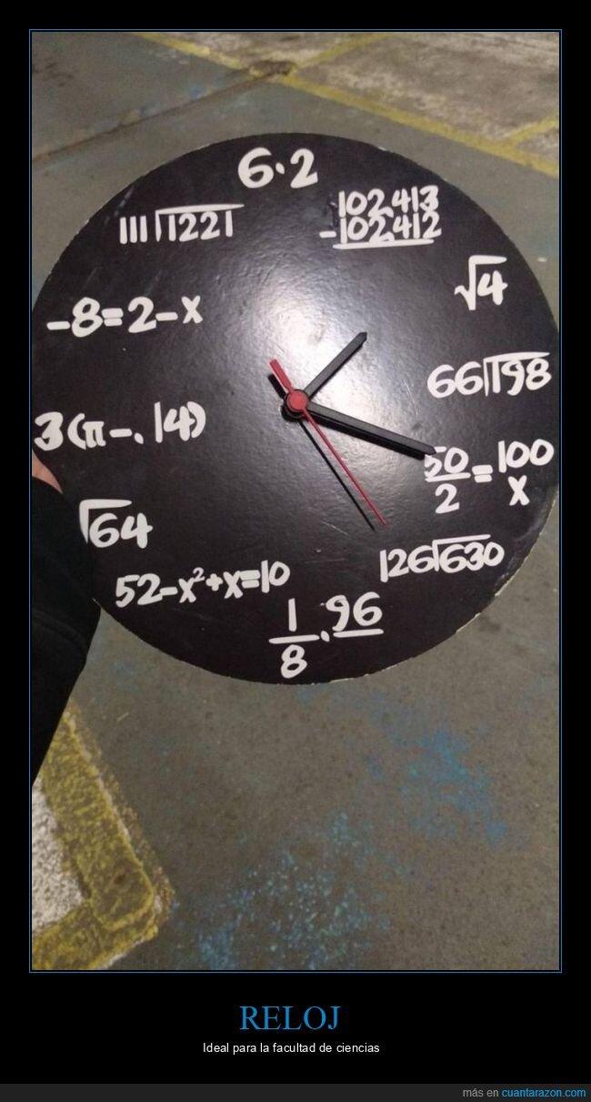 matemáticas,reloj