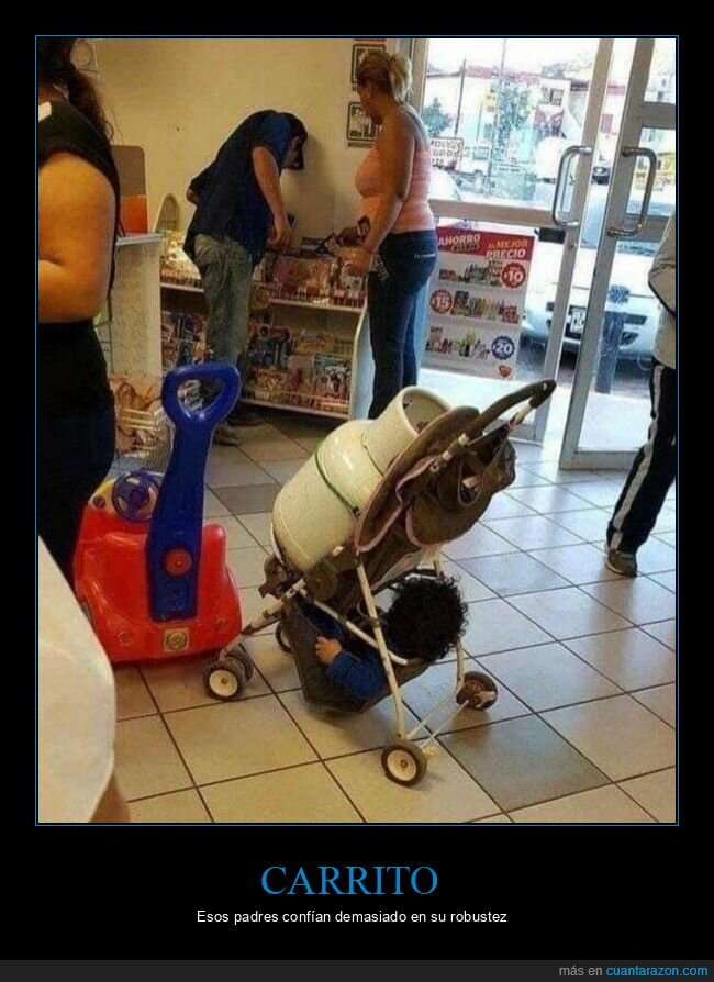 bombona,carrito,niño,padres,wtf