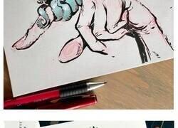 Enlace a Las ilustraciones de este artista ruso están llenas de humor negro y personajes inquietantes