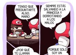 Enlace a Mario, el fontanero
