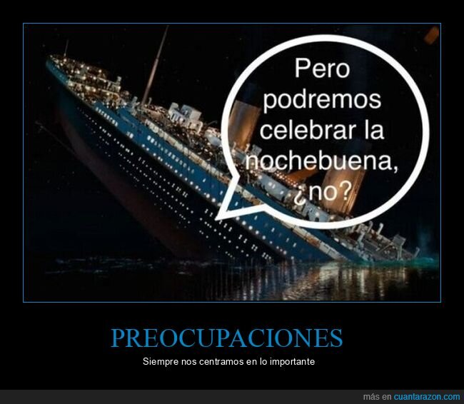 celebrar,nochebuena,titanic