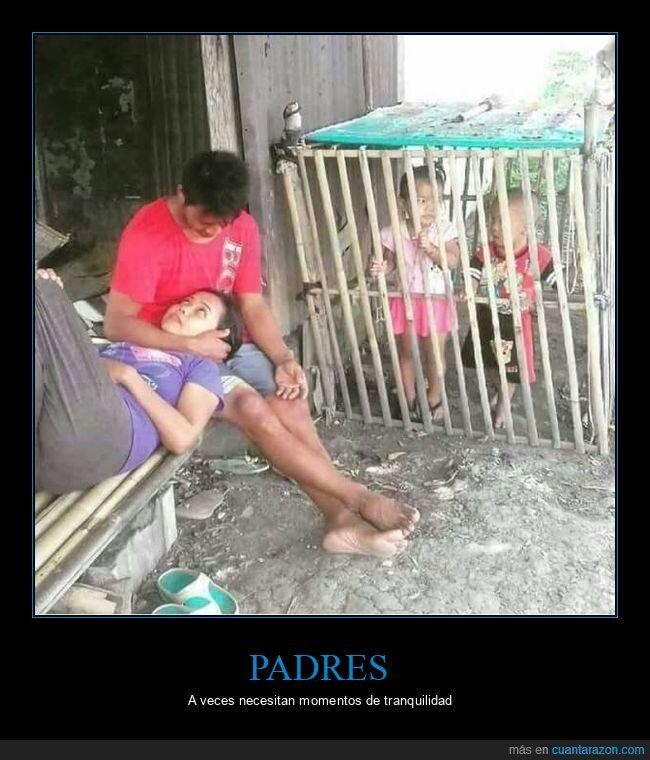 hijos,jaula,padres