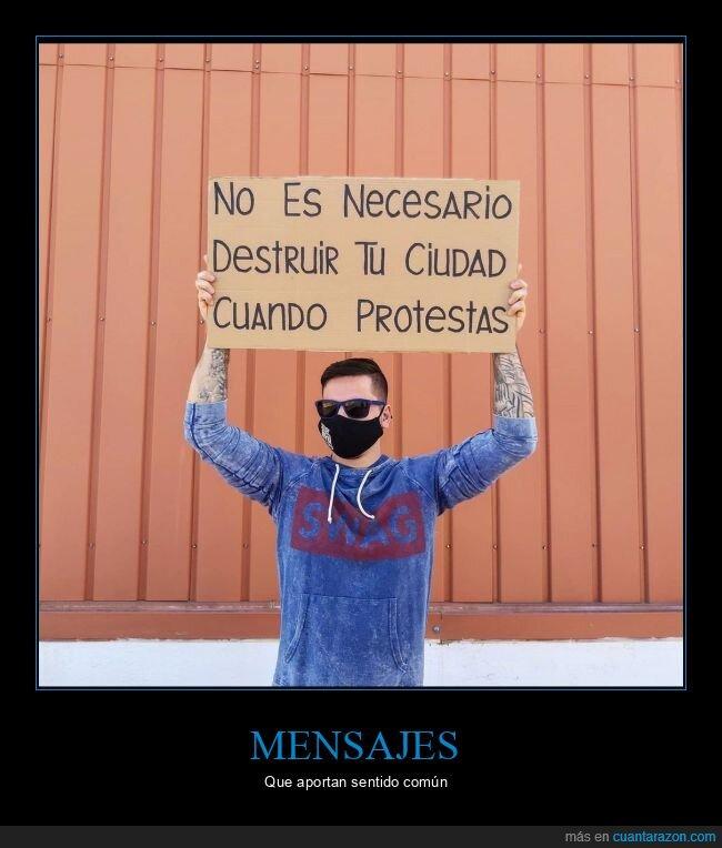 ciudad,destruir,disturbios,protestar