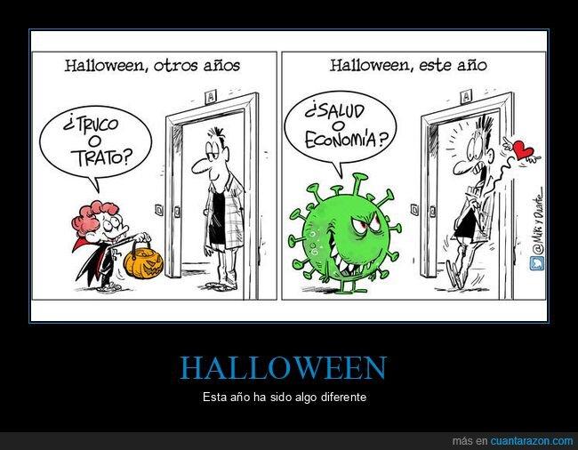 coronavirus,economía,halloween,sanidad