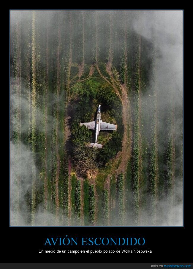avión,escondido,polonia