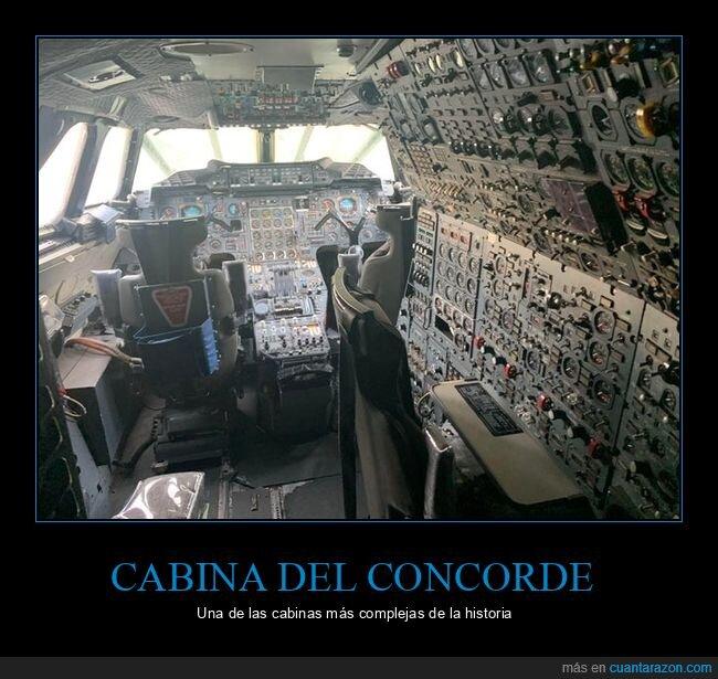 avión,cabina,concorde