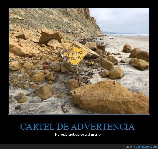 cartel,fails,rocas