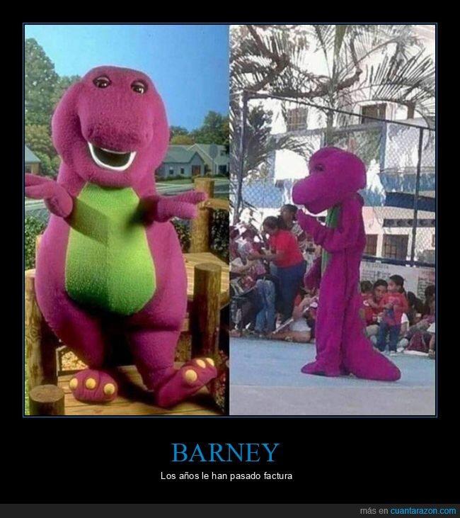 barney,wtf
