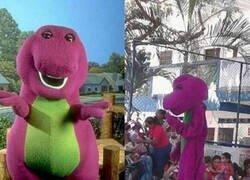 Enlace a Barney ya no es el que era