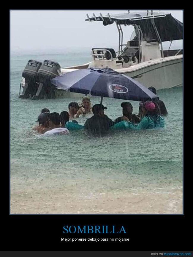 agua,lluvia,sombrilla,wtf