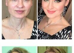 """Enlace a Este maquillador ruso permite a la gente experimentar lo que él llama el """"efecto Cenicienta"""""""