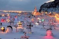 Enlace a Cementerio iluminado