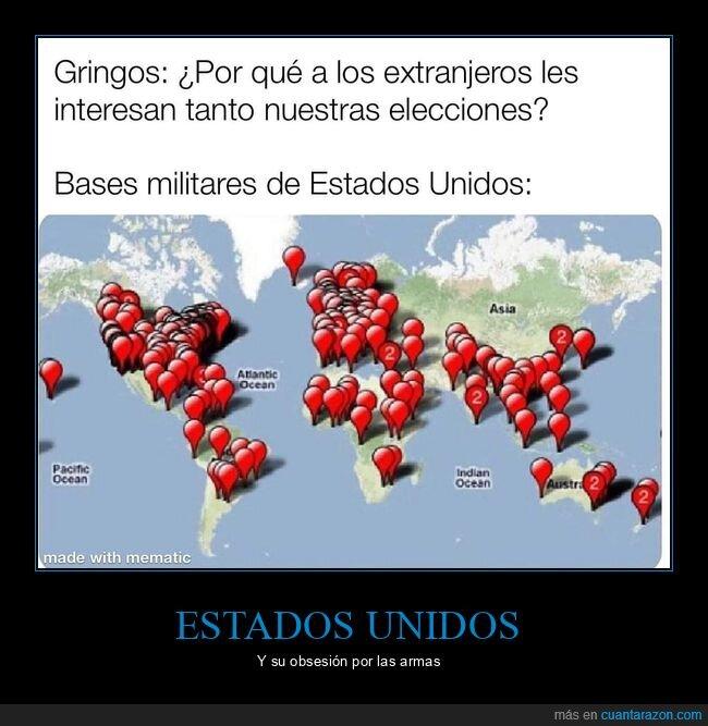 bases militares,eeuu,elecciones,extranjeros,interesar