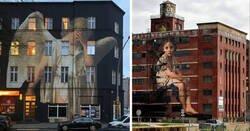 Enlace a El artista que convierte los cuadros neoclásicos en murales de proporciones épicas