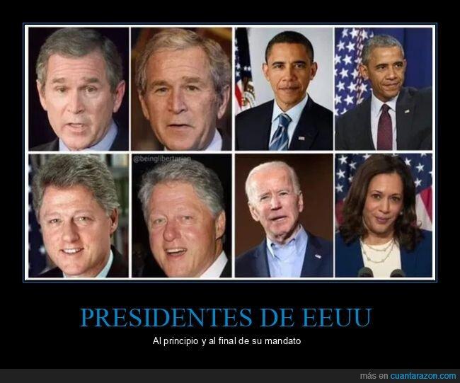 antes,biden,después,eeuu,kamala harris,políticos,presidentes