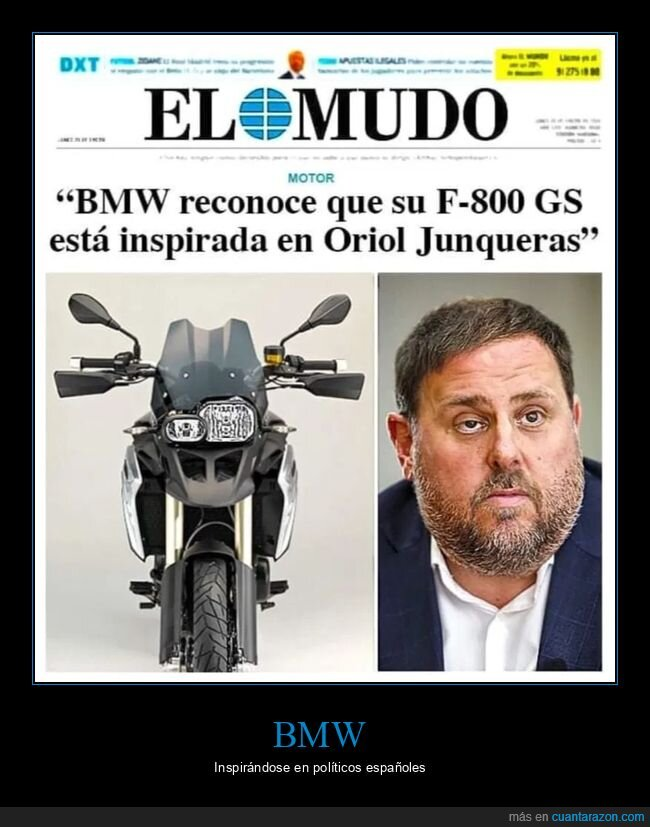 bmw,inspirada,motos,oriol junqueras,políticos