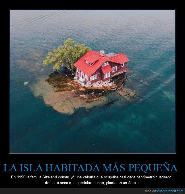 casa,habitada,isla,pequeña