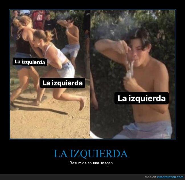 fumando,izquierda,pelea