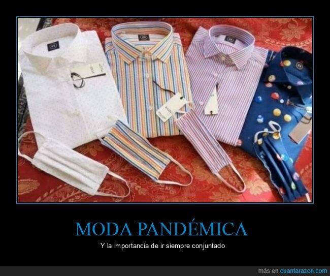 camisas,coronavirus,mascarillas