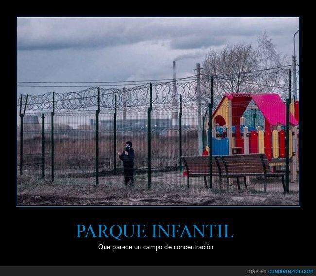 niño,parque,verja