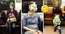 Enlace a Extrañas personas que podrías toparte en el transporte público
