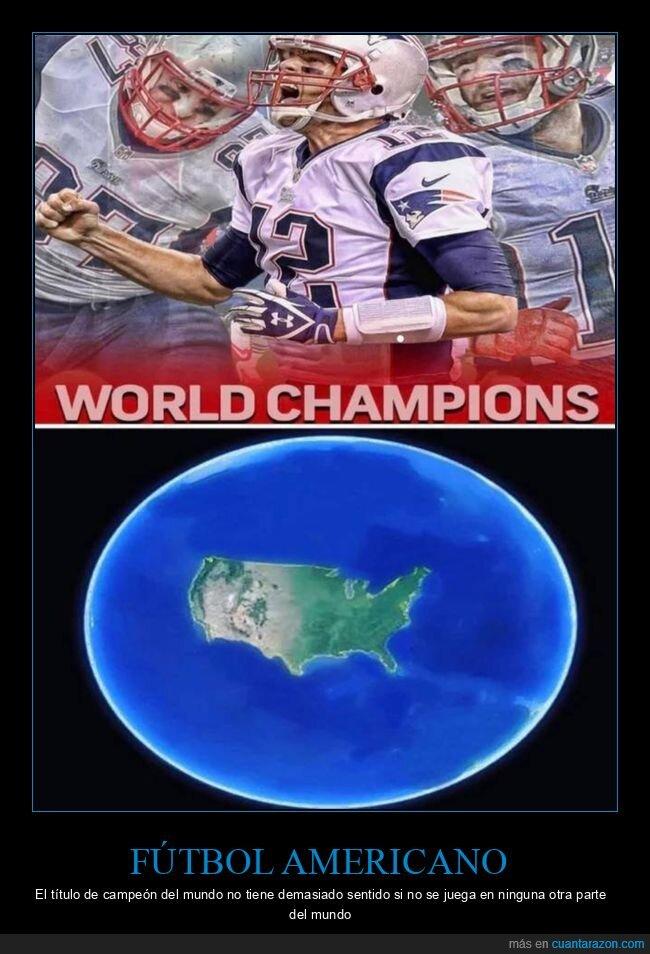 campeones del mundo,fútbol americano
