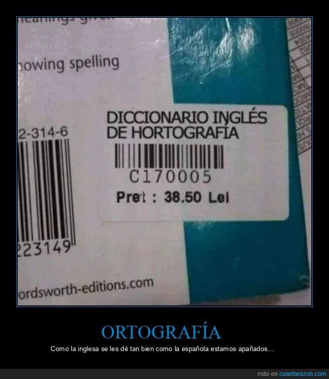 diccionario,fails,inglés,ortografía