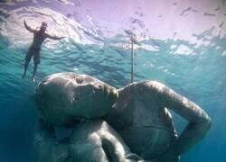 Enlace a Obra de arte subacuática