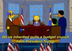 Enlace a Los Simpson predijeron a Kamala Harris